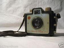 Kodak Brownie Holiday Flash Box Camera Dakon Lens Strap Vintage Antique