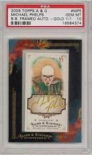 MICHAEL PHELPS AUTO GOLD 1/1 PSA 10 ALLEN GINTER OLYMPIC