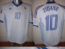 France Adidas Adult L Zidane Football Soccer Shirt Jersey Vintage Real Madrid W