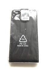 Blackberry Z30 Black leather case Top flip