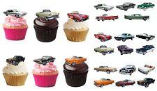 Oldtimer Auto eßbar Torten-Bild-Aufleger Party Deko Muffin Cupcake German Classi