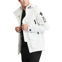 POLO RALPH LAUREN Men's White Technical Waterproof Outdoor Jacket, size Small