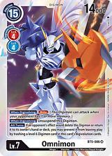 SUPER RARE Omnimon BT5-086 - BT05 Digimon Battle of Omni