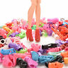 30 Pairs High Heels Shoes sandals For Barbie Doll Clothes Accesories Xmas 0hk