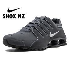 Nike Shox NZ Dark Grey Gray Metallic Iron Mens Shoes 378341 059 sz 10.5 11.5  13