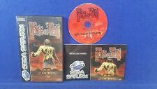 Sega Saturn HOUSE OF THE DEAD Boxed COMPLETE PAL
