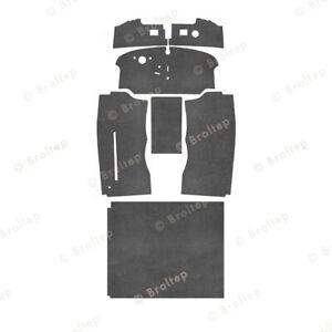 Innenraumteppich + Fahrgastraum für Vw Bulli T2 b Bj. 8.72-7.79 Filz
