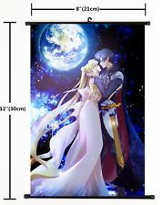 Japanese Anime Sailor Moon CrystalPoster Wall Scroll cosplay  2057