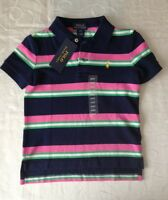 Ralph Lauren Boy's Striped 100% Cotton  Polo Shirt (4Years)