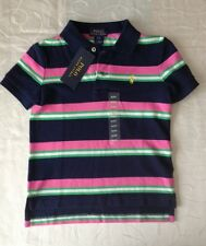 Ralph Lauren Baby Boy's Striped 100% Cotton  Polo Shirt (12Months)