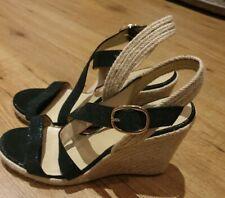 JONAK Wedge Heel Leather Sandals UK7 EU40  Excellent condition