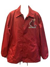 Mitchell & Ness Coaches Jacket St. Louis Cardinals MLB Baseball  Size 3xl