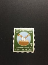 New Zealand 1968 Suffrage Stamps - Mint Condition