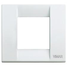 VIMAR IDEA PLACCA CLASSICA 1-2M METALLICA BIANCA 17092.01 17092.01