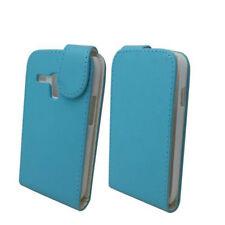 Flip Tasche Hülle für Samsung Galaxy S3 mini GT-i8190 Hülle Case Cover Etui Blau