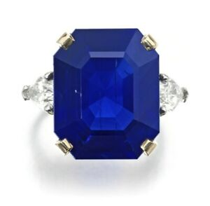 Three Stone Ring for Women Sim Sapphire Pear-Shaped Solid 925 Sterling Silver