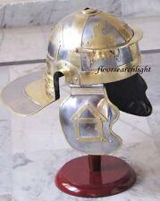 MEDIEVAL ITALIC LEGION HELMET - ROMAN CENTURION GALLIC HELM - GREEK SPARTAN