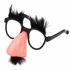 Groucho Disguise Glasses Big Nose Novelty Gag Attire (BULK LOT OF 10X)