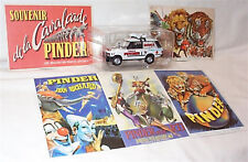 Pinder Circus Range Rover Advertising & Post cards 1-43 scale New in Pack Direkt