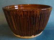 Small Brown Stoneware Planter - Pre Owned