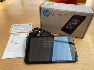 HP Stream 7 5701 Tablet with Power supply and box as new condition