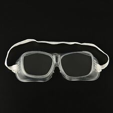 BB Eye Protection Protective Lab Anti Fog Clear Goggles Glasses Vented Safety QW