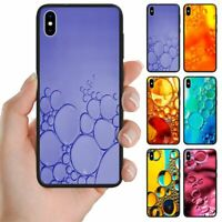 For Samsung Galaxy Series Water Bubble Print Theme Mobile Phone Back Case Cover
