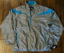 Jacksonville Jaguars NFL Quarter Zip Lightweight Pullover Jacket L XXL XXXL NWT
