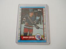 1989-90 Topps Rookie Brian Leetch
