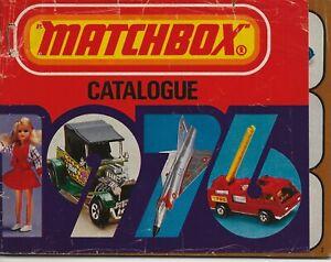 MATCHBOX CATALOGUE 1976