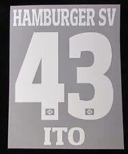 HSV Hamburger SV ITO Player Flock 25 cm fürs adidas Away/3rd Trikot 2017-2018
