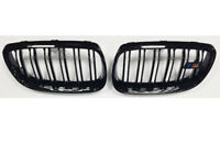 BMW E92 E93 3 Series Coupe Cab Grill Grille Gloss Black M Style 2006 - 2010