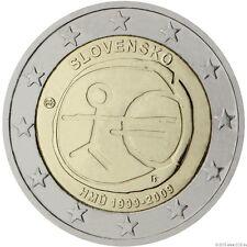 """* 2 Euro Gedenkmünze 2009 """"10 Jahre WWU / EMU"""" - alle 20 Münzen in Kapseln"""