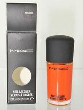 MAC Nail Lacquer Morange 10ml/0.34 oz. Nail Polish New Boxed