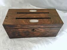 Mahogany 1850-1899 Antique Wooden Boxes
