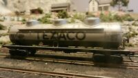 Athearn Vintage HO BB Texaco Triple Dome Tank Car, Exc.