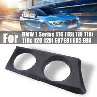 Cup Holder Base For BMW 1 Series 116 116i 118 118i 118d 120 120i E87 E81 E82 E88