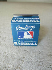 Official National League Official Baseball William White New In Original Box