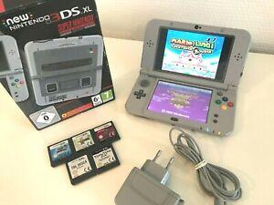 Nintendo new 3DS XL Limited SNES Edition +5 Spiele: Final Fantasy 3, Super Mario