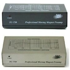 Technolink TC-750 RIAA Moving Magnet (MM) Phono Preamp; Black finish version!