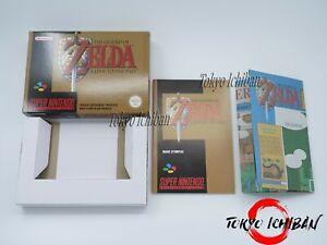Zelda A link To The Past - Boite + Notice + Cale + Carte du Jeu - Repro