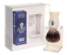 The Bluebeards Revenge Pure Badger Pennello da Barba con gocciolatoio Cavalletto