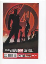 NEW AVENGERS #1 3 4 (HQ SCANS) HICKMAN, MARVEL NOW COMICS 2013 [BLACK PANTHER]