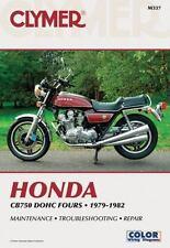 1979 1980 1981 1982 Honda CB750 DOHC Clymer Motorcycle Repair Manual M337
