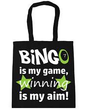 Bingo is my Game, Winning is my Aim Tote Shopping Gym Beach Bag 42cm x38cm, 10 l