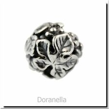 Authentic Trollbeads Sterling Silver 11329 Wine Harvest, Silver :1