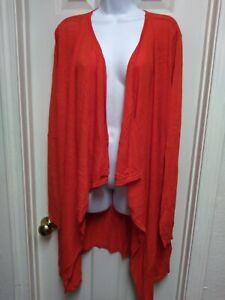 NWT Tulah Size 3x Sunset Orange Gwen Wrap