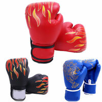 Kids Men MMA Taekwondo Boxing Gloves Martial Arts Sanda Trainers Karate Training