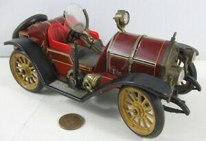 Vintage Schuco 1913 Mercer 1225 Wind-up Old time Car West Germany