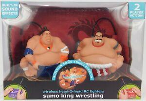 Wireless Head-2-head Remote Control Sumo King Wrestling Yin/Yang Fighters NIB